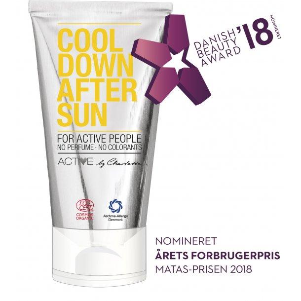 Cool Down Aftersun - Cosmos Organic certified by Ecocert Greenlife. Deklareret i samarbejde med Astma - Allergi Denmark
